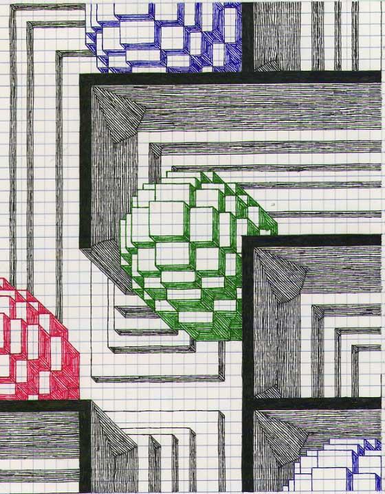 Glassonion Org Graph Paper Art